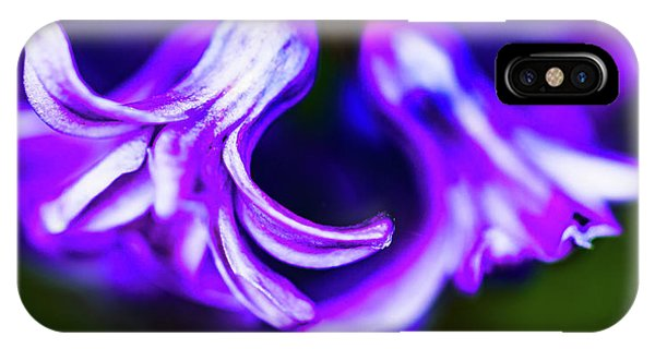 Purple Bells IPhone Case