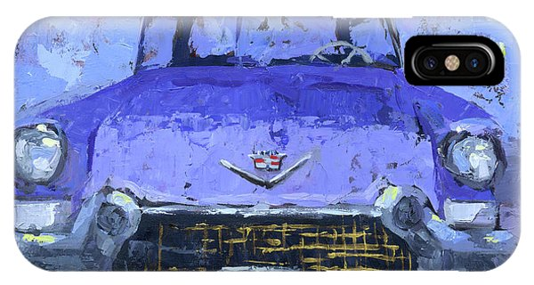 Purple Cadillac IPhone Case
