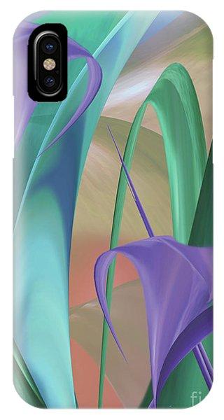 Purple Calla Lilies IPhone Case