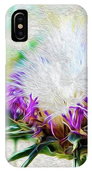 Purple Chaparral  IPhone Case