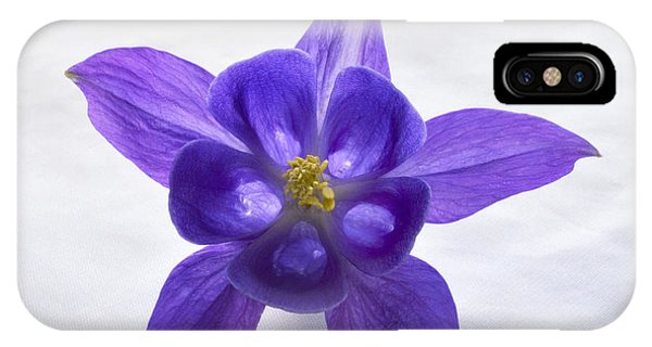 Purple Columbine IPhone Case