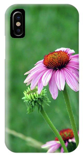 Purple Cone IPhone Case