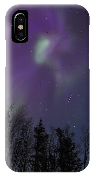 Purple Corona IPhone Case