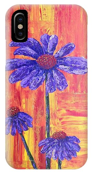 Purple Daisy IPhone Case