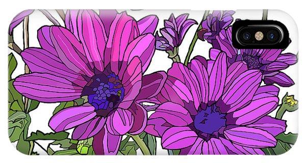 Purple Days IPhone Case