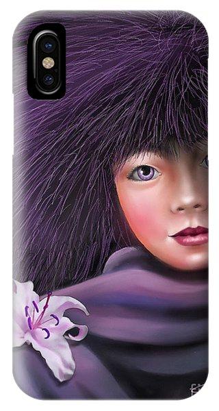 Purple Delight IPhone Case