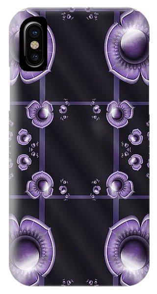 Purple Dimensions IPhone Case