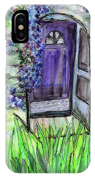 Purple Doorway IPhone Case