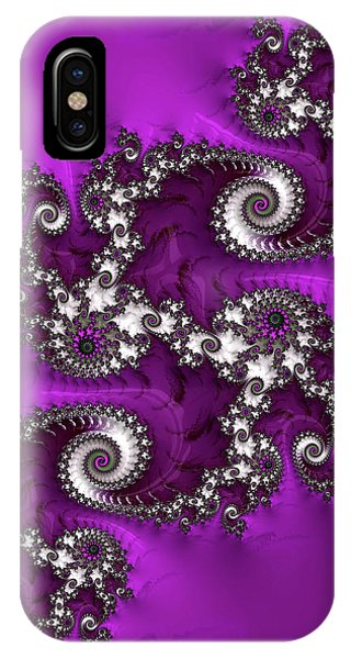 Purple Dragon IPhone Case