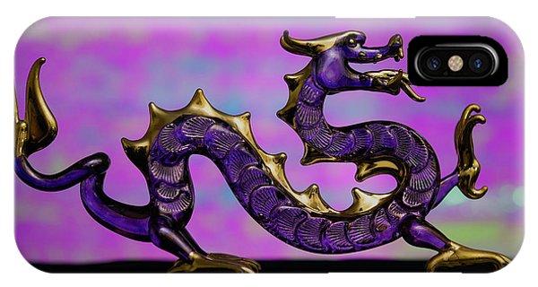Purple Dragon IPhone Case