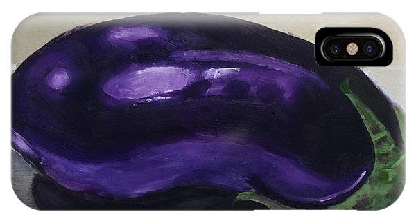 Purple Eggplant IPhone Case