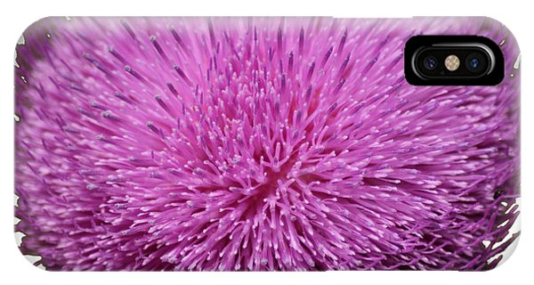 Purple Elegance IPhone Case