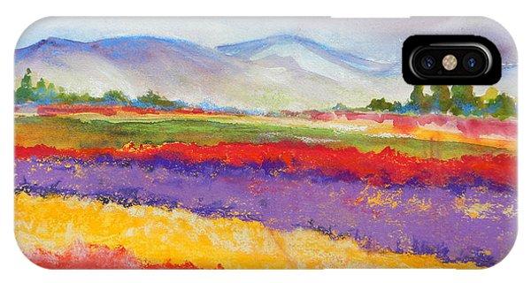 Purple Fields IPhone Case