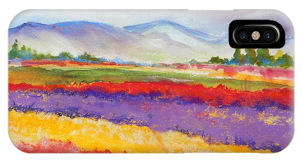 Purple Fields IPhone Case