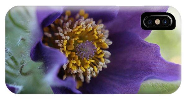 Purple Fleece IPhone Case