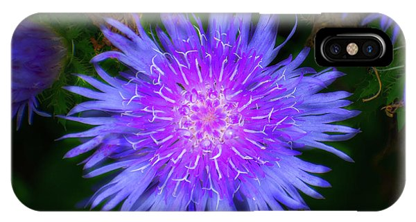 Purple Flower From Mars IPhone Case