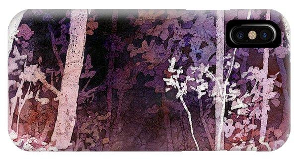 Purple iPhone Case - Purple Forest by Hailey E Herrera