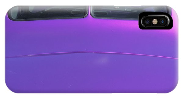 Purple Forty IPhone Case