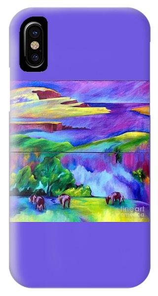 Purple Graze IPhone Case