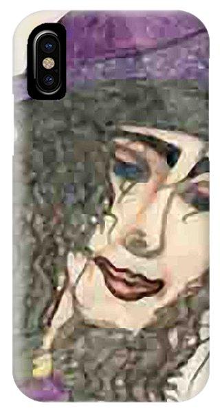 Purple Hat IPhone Case