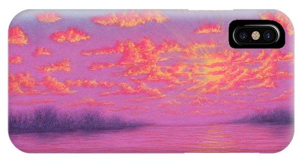 Purple Haze 01 IPhone Case