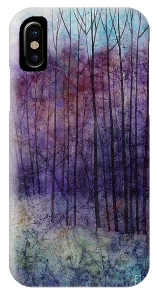 Blue Violet iPhone Case - Purple Haze by Hailey E Herrera