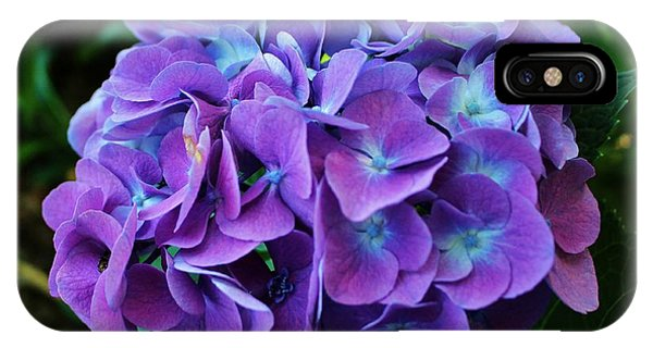 Purple Hydrangea IPhone Case