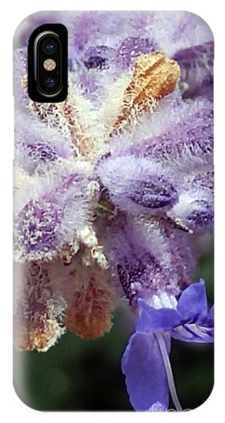 Purple Iced Blue New Mexico Wildflower IPhone Case
