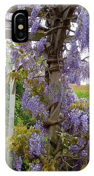 Purple In Priory Park IPhone Case