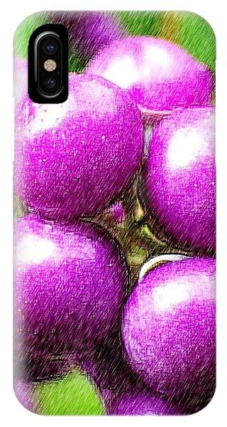 iPhone Case - Purple by Kumiko Izumi