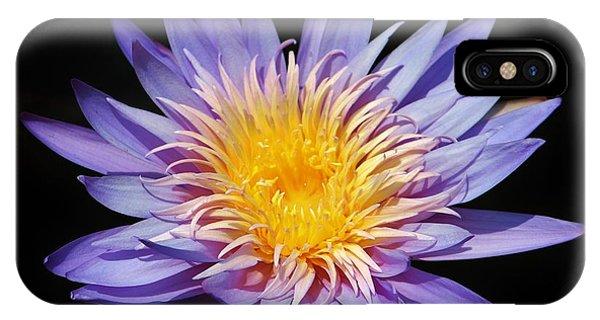 Purple Lotus IPhone Case