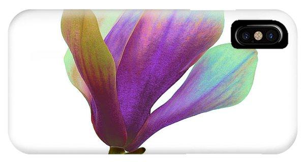 Purple Magnolia IPhone Case