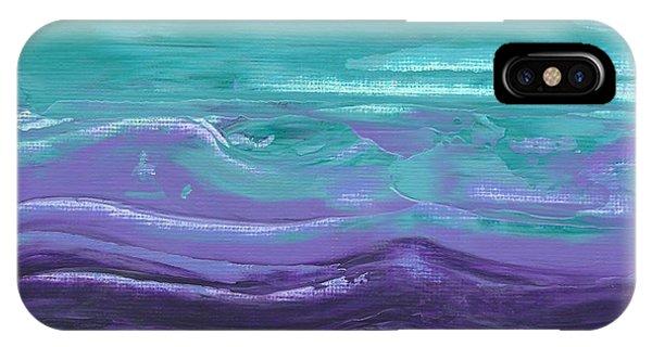 Purple Majesty  IPhone Case
