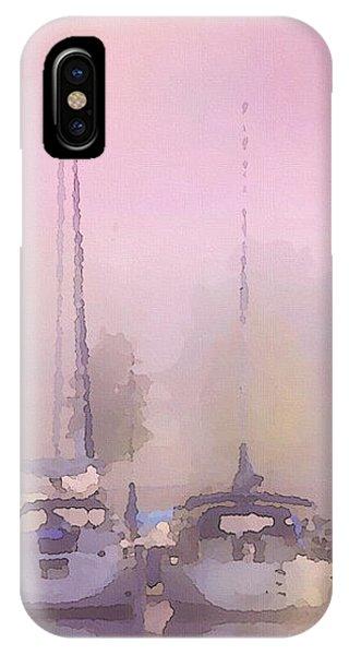 Purple Marina Morning IPhone Case