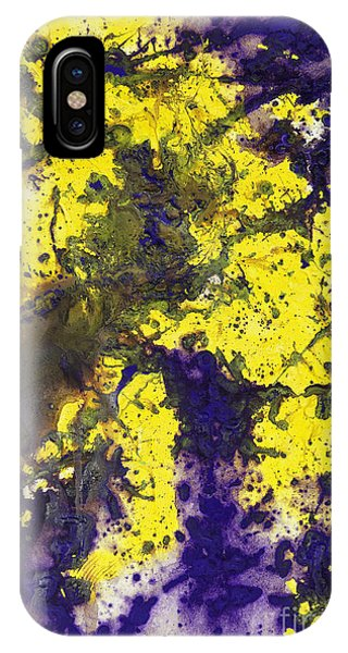 Purple Married Yellow IPhone Case