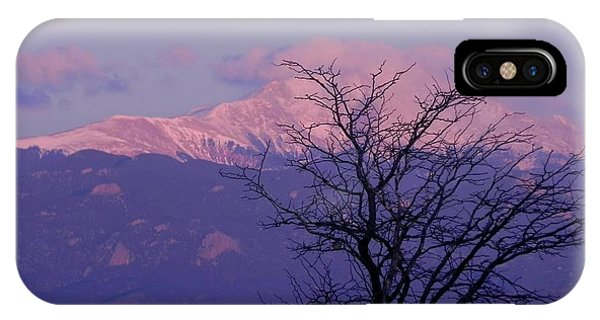 iPhone Case - Purple Mountain Majesty by Adrienne Petterson