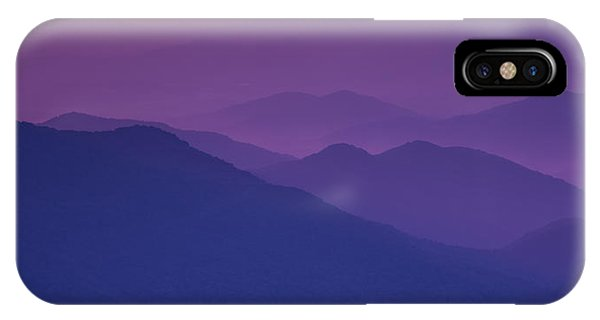 Purple Mountain Majesty IPhone Case