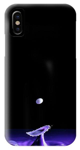 Purple Mushroom IPhone Case