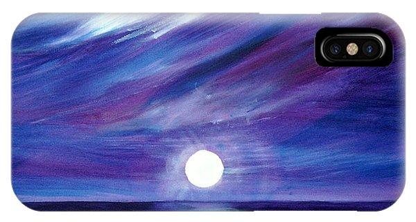 Purple Night IPhone Case