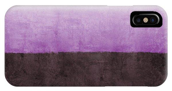 Lavender iPhone Case - Purple On The Horizon- Art By Linda Woods by Linda Woods