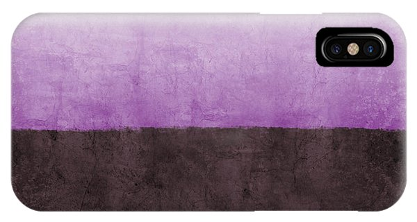 Lavender iPhone Case - Purple On The Horizon- Art By Linda Woods by Linda Woods