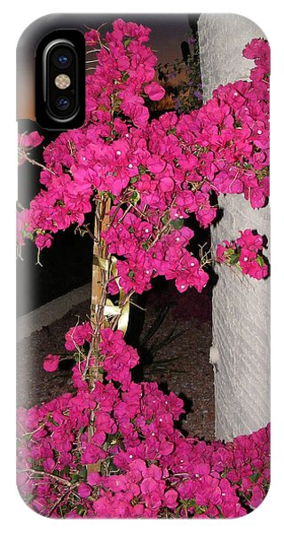 Purple Passion Against Desert Sunset IPhone Case