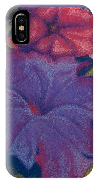 Purple Petunia IPhone Case