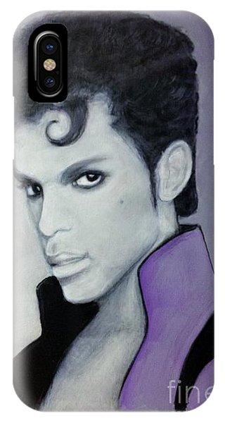 Purple Prince IPhone Case