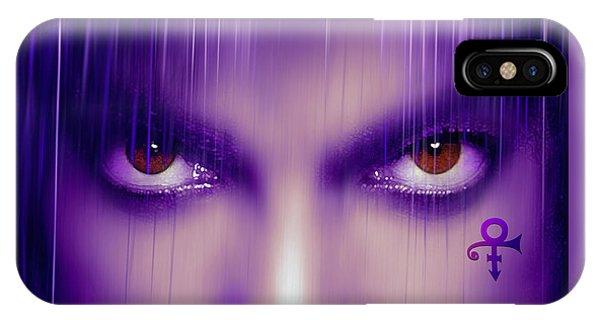 Purple Rain Purple Rain IPhone Case