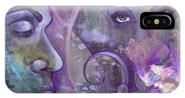 iPhone Case - Purple Rain by Shadia Derbyshire