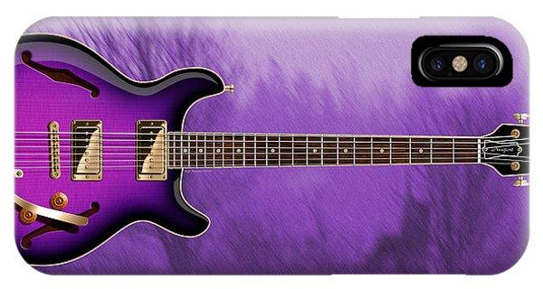 Purple Rain iPhone Case - Purple Rain by WB Johnston
