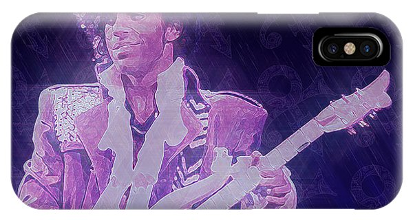 Purple Reign IPhone Case