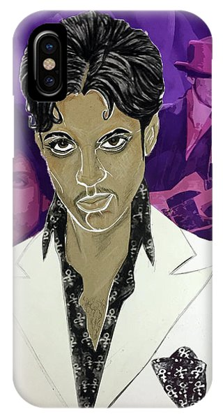 Purple Reign 1959 - 2016 IPhone Case
