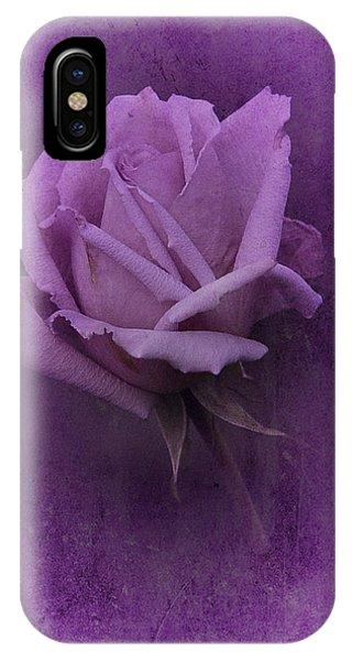 Purple Rose Of November No. 2 IPhone Case